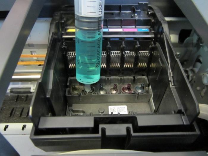 Основные проблемы печати принтеров Epson с установленной СНПЧ