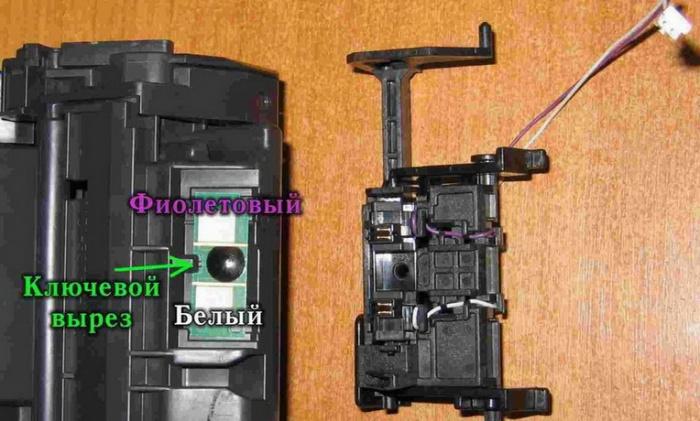 Инструкция по переделке картриджа Q2613A для работы в принтере LaserJet 1200