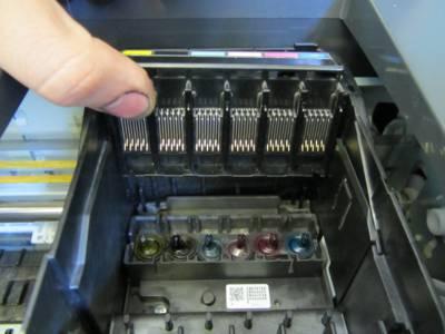 Очистка принтера Epson