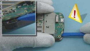foto Как разобрать телефон Nokia C6 01