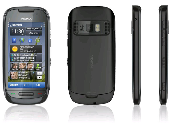Nokia C7-00 - обзор телефона