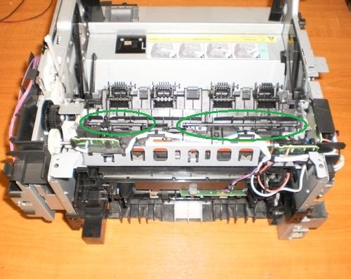 foto Разборка Canon i SENSYS MF4018 для устранения ошибки с замятием бумаги